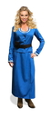 Seeing Red Western Woman Adult Blue Costume Dress