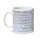 Surreal Entertainment SRE-CMG20-OFF-SQTE-C The Office That's What She Said 20oz Ceramic Coffee Mug
