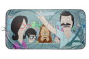 Surreal Entertainment SRE-CSF-OFF-RDTP-C Bob's Burgers Belcher Family Sunshade for Car Windshield   64 x 32 Inches