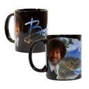 Surreal Entertainment Bob Ross Exclusive Color Change Ceramic Coffee Mug
