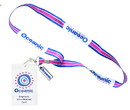 Surreal Entertainment SRE-YD-LOST-OCEN-C Lost Oceanic Airlines Lanyard with ID Card & Charm