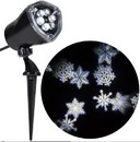 Sunstar SSI-14382G-C Holiday Lightshow Projection: Ornate Snow Flurry (White)
