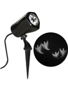 Sunstar SSI-59460G-C Halloween LED Lightshow Projection: Whirl-A-Motion Ghosts (White)