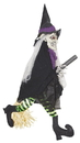Sunstar SSI-75501-C Animated Witch on Broom Halloween Décor