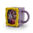 Silver Buffalo Friends Personalized Coffee Cup - Display Your Own Photo In Frame - 20 Ounces