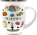 Friends Logo Icon Toss 16oz Wide Rim Ceramic Mug