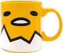 Silver Buffalo SVB-GUD20534-C Sanrio Gudetama Face 20 Ounce Ceramic Mug
