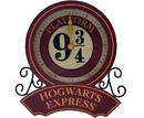 Silver Buffalo SVB-HP2344DQ-C Harry Potter Hogwarts Express Platform 9 3/4 Desk Clock