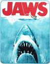 Silver Buffalo SVB-JW0127-C JAWS Movie Poster 50x60 Inch Micro-Plush Throw Blanket