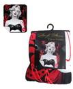 Silver Buffalo SVB-MR3361-C Marilyn Monroe Black Bra 50x60 Inch Micro-Plush Throw Blanket