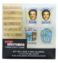 Silver Buffalo SVB-SBR307D3-C Step Brothers Tower Party Game With 4 Shot Glasses