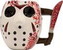 Silver Buffalo SVB-WBH1063D-C Friday The 13Th Jason Mask W/ Knife 20Oz Ceramic 3D Sculpted Mug