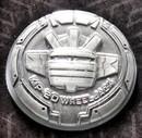 Transformers Masterpiece MP-20 Wheeljack Collector Coin