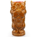 ThinkGeek Geeki Tikis Fallout Dogmeat Mug - Crafted Ceramic - Holds 14 Ounces
