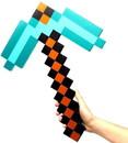 ThinkGeek THG-8F48B-C Minecraft Diamond Foam Pickaxe Exclusive