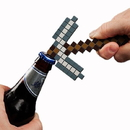 ThinkGeek THG-EF55-C Minecraft Pickaxe Bottle Opener