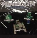 ThinkGeek THG-MCPIN-C Minecraft Minecon 2015 Exclusive Pin Set of 3