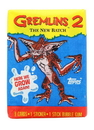 Topps Gremlins 2 The New Batch Topps Trading Cards - 1 Pack