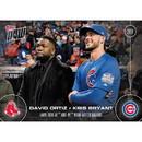 Topps TPS-02358-C MLB Chicago Cubs David Ortiz/ Kris Bryant OS-1 2016 Topps NOW Trading Card
