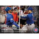Topps TPS-02377-C MLB Chicago Cubs Kris Bryant/ Anthony Rizzo #655 2016 Topps NOW Trading Card