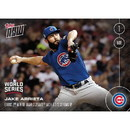Topps TPS-02378-C MLB Chicago Cubs Jake Arrieta #654 2016 Topps NOW Trading Card