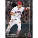 Topps TPS-16TN-OS31-C LA Angels Mike Trout #OS-31 Topps Now 2016 American League MVP Award Winner