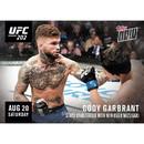 UFC Cody Garbrandt #202C Topps NOW Trading Card