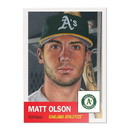 Topps Oakland Athletics #21 Matt Olson MLB Topps Living Set Card