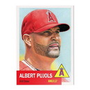 Topps LA Angels #22 Albert Pujols MLB Topps Living Set Card
