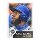 Topps NY Mets #23 Amed Rosario MLB Topps Living Set Card