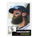 Topps Colorado Rockies #31 Charlie Blackmon MLB Topps Living Set Card
