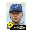 Topps Atlanta Braves #32 Ozzie Albies MLB Topps Living Set Card