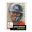 Topps Miami Marlins #33 Lewis Brinson MLB Topps Living Set Card