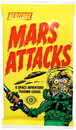 Topps Mars Attacks! Space Adventure Cards 1 Pack Of Cards