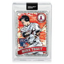 Topps TPS-ARTBB-0100-C Topps Project 2020 Card 100 - 2011 Mike Trout By Blake Jamieson