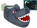 Toy Vault TVT-09012-C Godzilla Glow in the Dark Plush Slippers