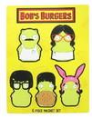 UCC Distributing Bob's Burgers Kuchi Kopi Family 6-Piece Magnet Set