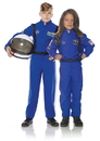 Underwraps Blue Astronaut Flight Suit Child Costume