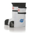 Underwraps NASA Astronaut Child Costume Boot Tops - One Size - White