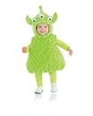 Underwraps Belly Babies 3-Eyed Green Alien Costume