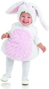 Underwraps White Rabbit Belly Babies Toddler Costume - X-Small