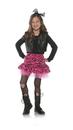 Underwraps 80's Zebra Rocker Child Costume