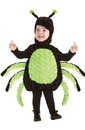 Underwraps Belly Babies Black & Green Spider Costume Child Toddler - Large 2T-4T