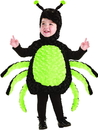 Underwraps Black Spider Belly Babies Toddler Costume - Small