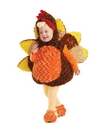 Underwraps Belly Babies Holiday Turkey Costume Child Toddler