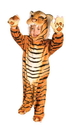 Underwraps Brown Plush Tiger Costume Child Infant