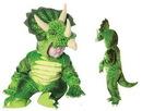 Underwraps Green Triceratops Plush Baby Costume