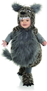 Underwraps Grey Wolf Belly Babies Toddler Costume - X-Small