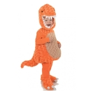 Underwraps Belly Babies T-Rex Orange Dinosaur Toddler Costume