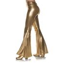 Underwraps 70'S Gold Metallic Bell Bottoms Adult Costume